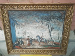 Rudnay hatalmas festmény.