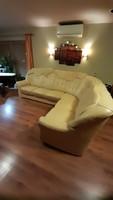 Andante bőr sarok ülőgarnitúra, kanapé, fotel, ágy