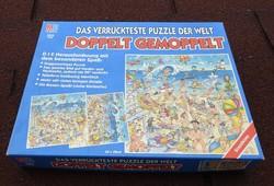 Dupla oldalas 529 db-os extra puzzle - tengerparti jelenet