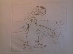 Rézkarc-Almásy Aladár: Mitológia 51/100