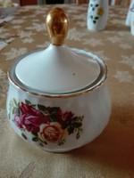 ROYAl norfolk angol cukortarto alátét tányérral