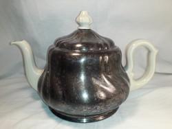 Antik barokk szeccessziós design thermo melegen tartó kávé tea kiöntő ritkaság