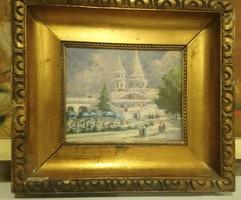 XIX század vége XX, század eleje olasz vagy francia festő.