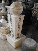 Ritka Minimal Modern Szökőkút Kő szobor Minőségi  műkő csobogó szökő kút