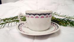 Antik Zsolnay teás csésze szett