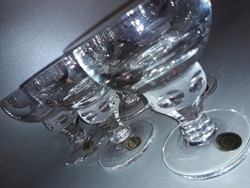 Zwiesel üveg kristály konyakos pohár készlet