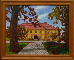 Moona - Károlyi kastély EREDETI OLAJFESTMÉNY