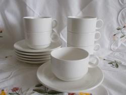 6 db Villeroy&Boch vitro porcelán csésze
