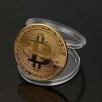 BITCOIN Aranyozott gyűjtői érme