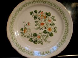 Fine Ware régi angol virágos tányér