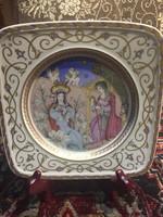 Szép falitányér, Mária kis Jézussal