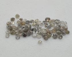 76 Pcs Natural Diamonds 1 cts