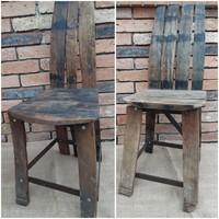 Hordóból készült székek