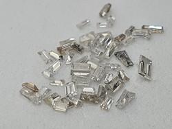 52 Pcs Natural Diamonds 0.6 Cts