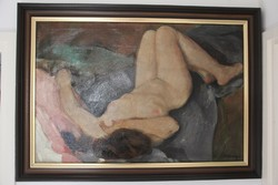Vaszary János - Fekvő női akt
