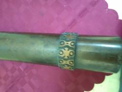 Iparművész bronz váza.