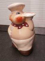 Porcelán fakanál tartó