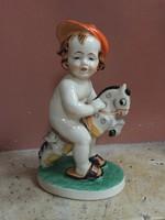 Kedves gyerek figura