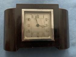 Art deco kandalló óra, megkímélt állapotban, hagyatékból