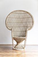 Pávaszék (páva fotel, Emmanuelle-szék, peacock chair)