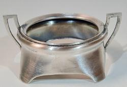 Ezüst antik fűszer-szósz kínáló/tartó