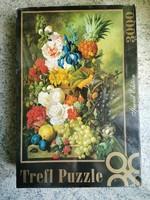 Jan Van Os - A nyàri virágok gazdag csendélete puzzle