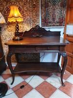 Antik konzolasztal