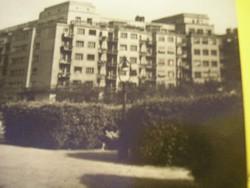 N11 Bpest XIII.k Szent István park Lipótváros 1950 évekbeli képeslap gyűjtői ritkaság fotóművészeti