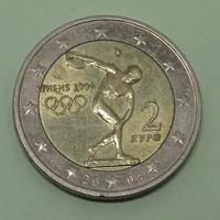 2 Euro 2004 Görögország - Forgalmi emlékérem