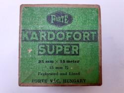 Retro Forte fotókellékes doboz Kardofort Super