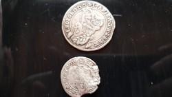 Leopold két db ritka pénz  amiből alig készült par