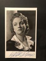 Bulla Elma  által aláírt képeslap