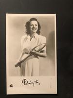 Pelsőczy Irén által aláírt képeslap