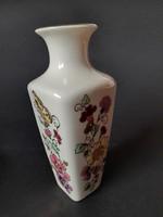 Zsolnay pillangó mintás váza, 14,5cm