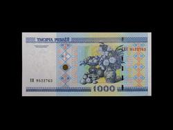 UNC - 1000 RUBEL - BELARUSZ/FEHÉROROSZ - 2000
