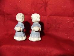 Karácsonyi porcelán gyertyatartó párban