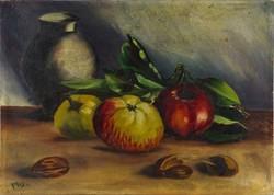 1C930 Magyar festő XX. század első fele: Asztali csendélet ~1926
