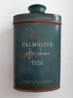 Régi Palmolive fémdoboz