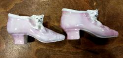 Porcelán cipők cicával