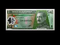 UNC - 1 QUETZAL - GUATEMALA - 2012 (Műanyag bankjegy!)