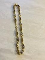 Versace barakka arany nyaklánc 14K .