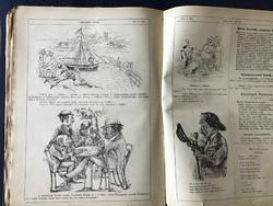 Bolond Istók élclap 1880. 1-51. szám Számonként 12 oldal