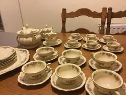 Rosenthal Elfenbein Victoria antik teás, kávés, sütis készlet  (200)