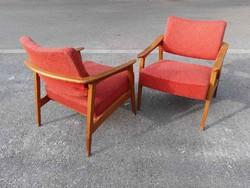 Mid century design cseh fotel párban