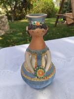 Kiss Roóz Ilona menyasszony váza
