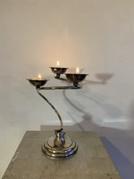 Olasz Ezüst Mécses tartó - Gyertyatartó