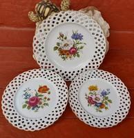 Cluj Napoca Gyönyörű virágos Román tányérok,  tányér ,nosztalgia