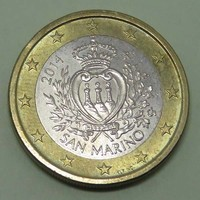1 Euro San Marino 2014 - Forgalmi érem