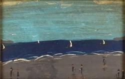 1C999 XX. századi európai festő : Tengerpart GULA
