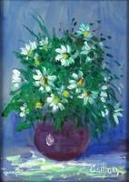 1D001 Csillag jelzéssel : Asztali virágcsendélet